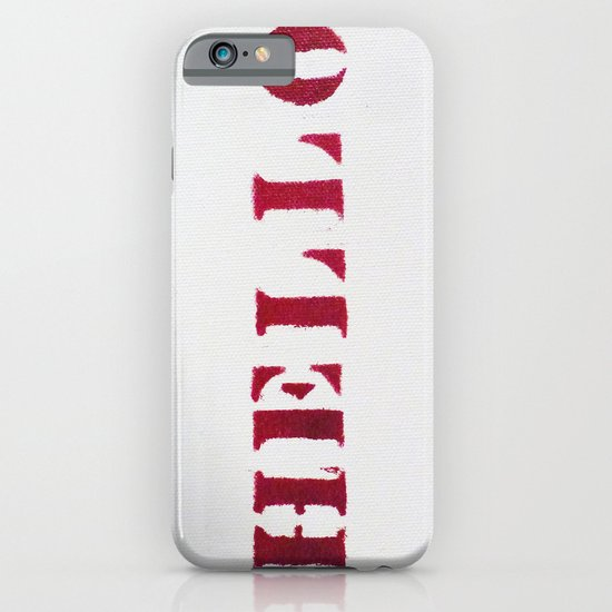 Hello You iPhone & iPod Case