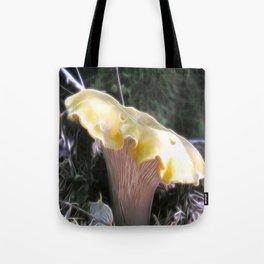 Electric Chanterelle Tote Bag