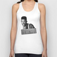 fresh prince Tank Tops featuring Fresh prince by MartiniWithATwist