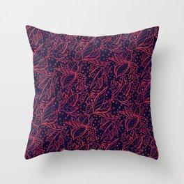 ayahuasca autumn Throw Pillow
