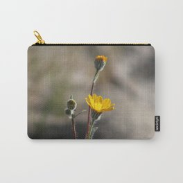 Closeup of Desert Sunflowers Coachella Valley Wildlife Preserve Carry-All Pouch