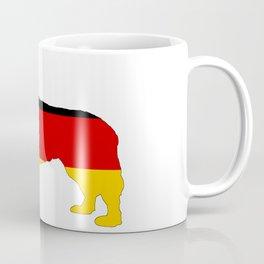 German Flag - Newfoundland Dog Coffee Mug