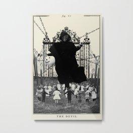 Fig. XV - The Devil Metal Print