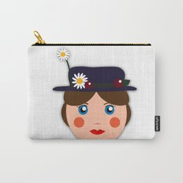 Practically Perfect  Carry-All Pouch