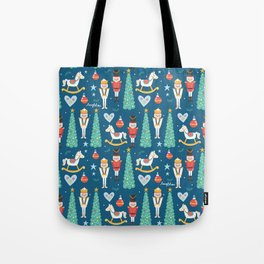 Nutcrackers under the Christmas Tree Tote Bag
