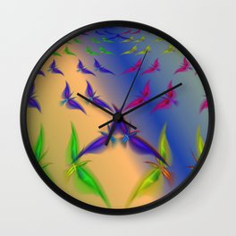 Continual coming and going Wall Clock