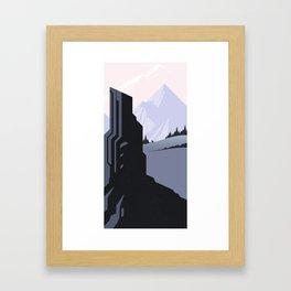 Beyond the Gatekeeper Framed Art Print