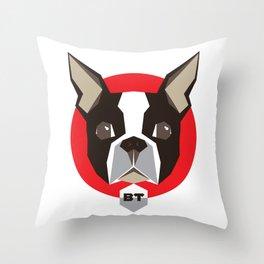 BostonTerrier Throw Pillow