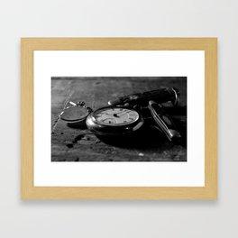 Tradition and Heritage - Black & White Framed Art Print