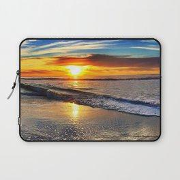 beach-sunset Laptop Sleeve