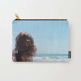 Which Way to the Beach Carry-All Pouch