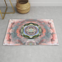 Rose into Dust Rug