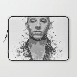 Vin Diesel splatter painting Laptop Sleeve