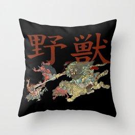Shoki Demon Killer Throw Pillow