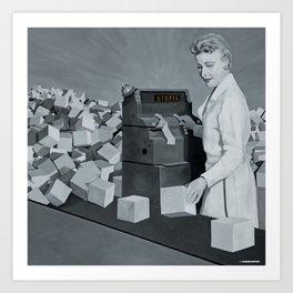 Utopia - 'Checkout' Art Print