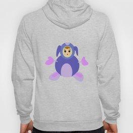 Small purple monster Hoody