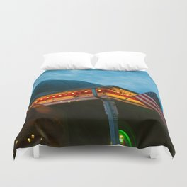 Roundhouse Duvet Cover