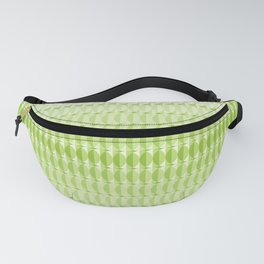Leaves at springtime - a pattern in green Fanny Pack