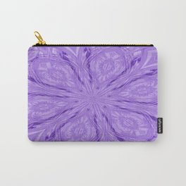 6 Petals Abstract Lavender Carry-All Pouch