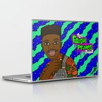 fresh prince Laptop & iPad Skins featuring Fresh Prince of Bel Air by The POP Factory