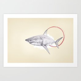 Great White Art Print