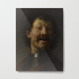 The Laughing Man Metal Print