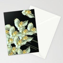 Killer Owls Stationery Cards