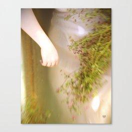 Her weedy trohpies Canvas Print