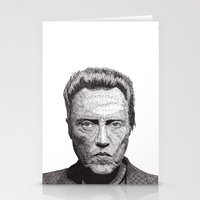 christopher walken Stationery Cards featuring Christopher by Rik Reimert