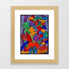 Floral #9 Framed Art Print