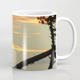 SUNSET BETWEEN A TREE Coffee Mug
