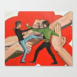 Wing Chun Kung Fu Canvas Print
