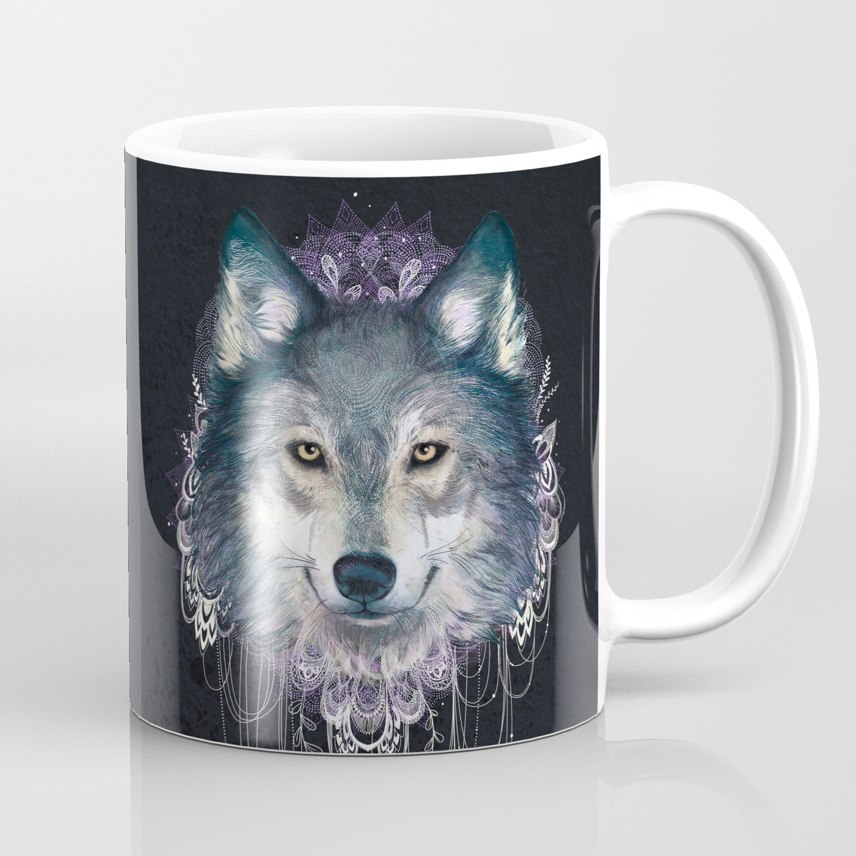 Wolf Coffee Mug By Lauragraves Society6