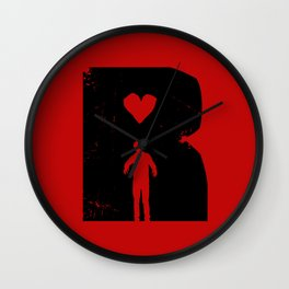 Dead Romantic Wall Clock