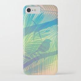 Palm bird iPhone Case