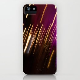 Light Trails iPhone Case