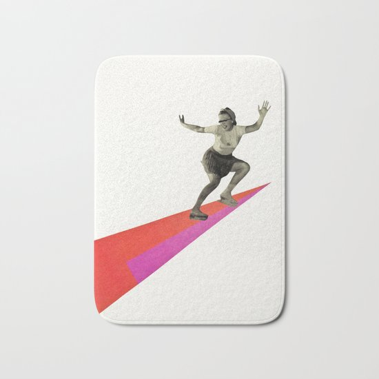 Skate the Day Away Bath Mat