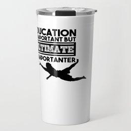 Ultimate T-Shirt I Gift Disc Sport Jersey   Travel Mug