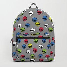 RICHARD BALAM SKULLS BACKGROUND Backpack