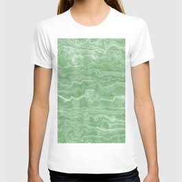 Egyptian Marble, Jade Green T-shirt