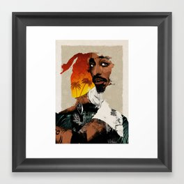 PAC Tribute Framed Art Print