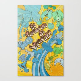 Circus Poster Canvas Print