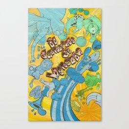 Circus Poster Canvas Print