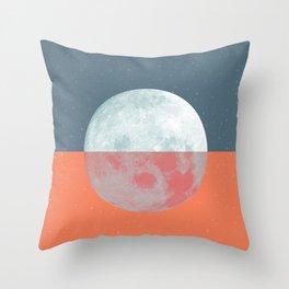 DOUBLE MOON Throw Pillow