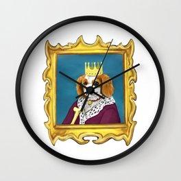 King Charles Cavalier Wall Clock