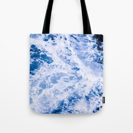 Beautiful Blue Waves Tote Bag