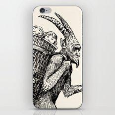 Gruss vom Krampus iPhone & iPod Skin