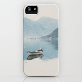 boat reflections ... iPhone Case