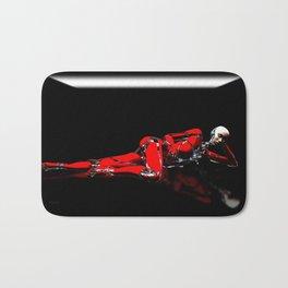 Red Robot Recharge Bath Mat