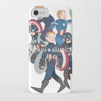 suits iPhone & iPod Cases featuring The suits by Sodam-art